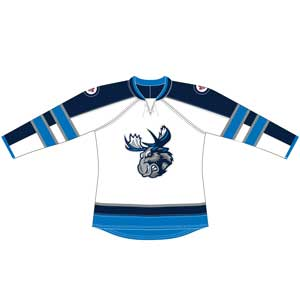 MOOSE JERSEY YOUTH - WHITE