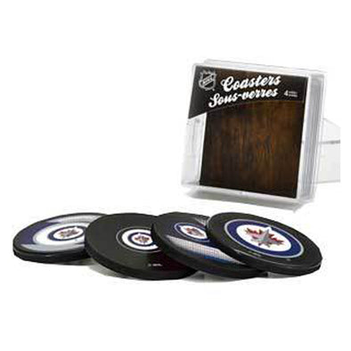 JETS PUCK COASTERS