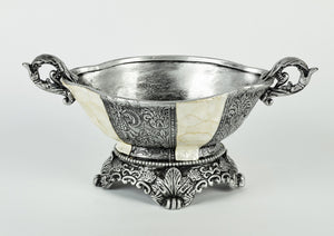 Decorative Silver Bowl