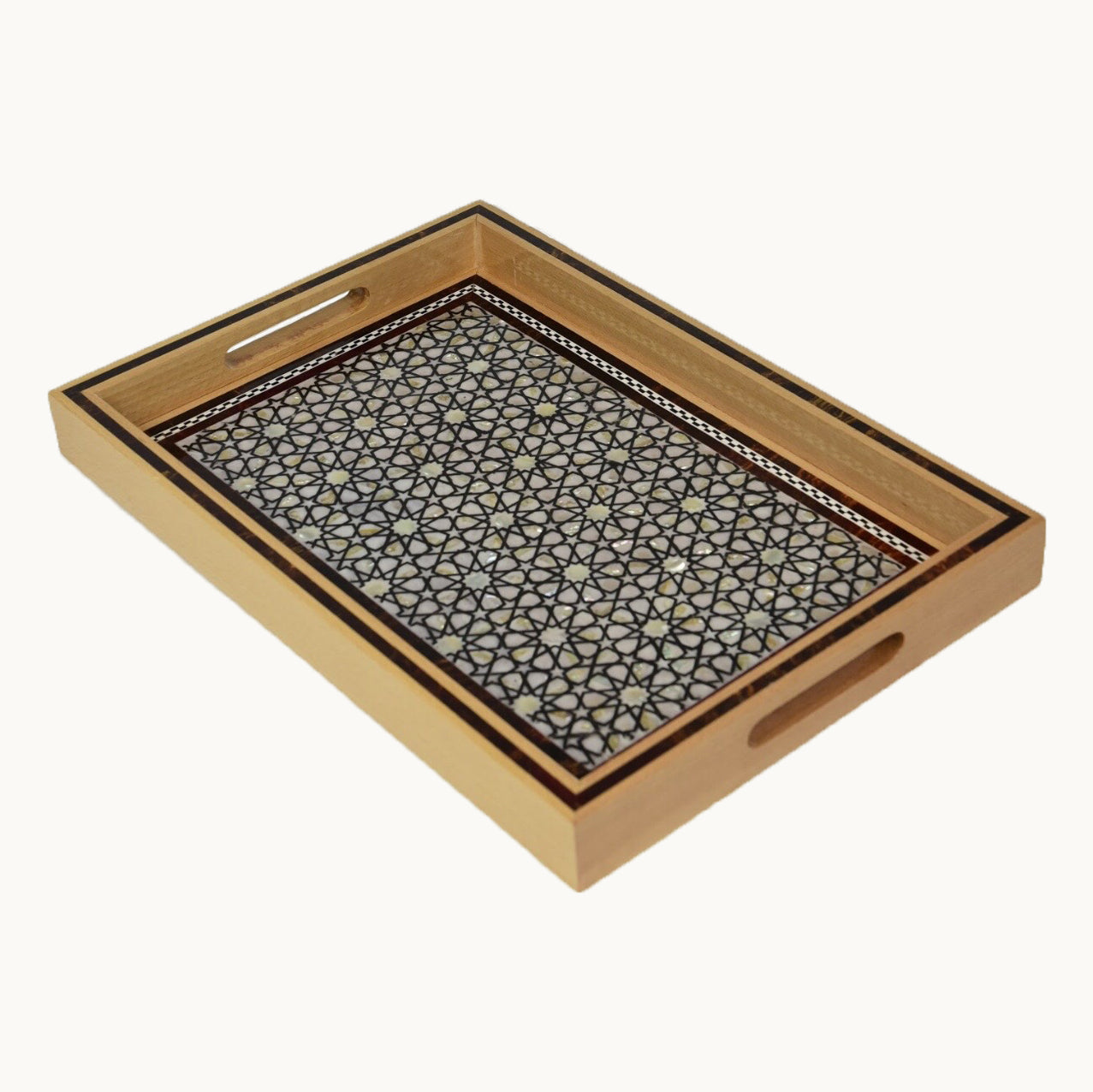 Large  Rectangle Wooden Tray
