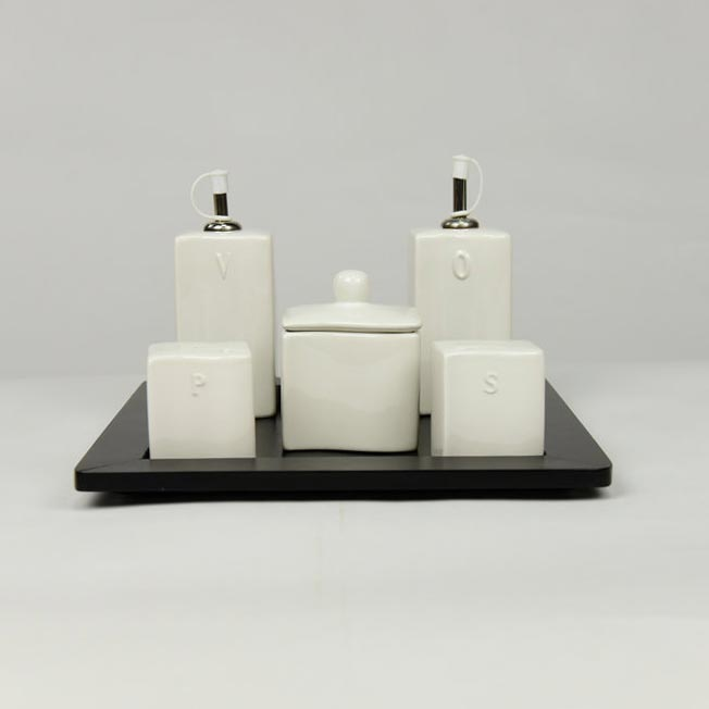 OIL & VINEGAR 5 PC SET