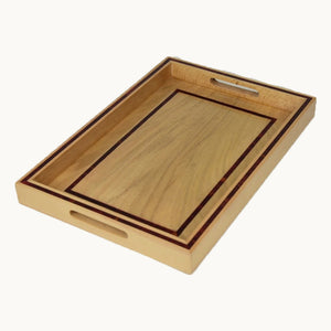 Medium Rectangular Wooden Tray