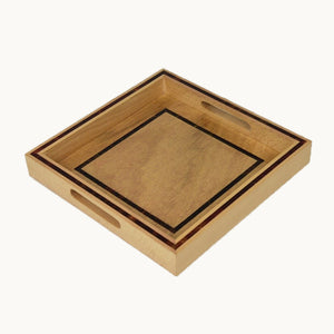 Small Square Wooden Tray