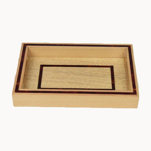 Small Rectangular Wooden Tray