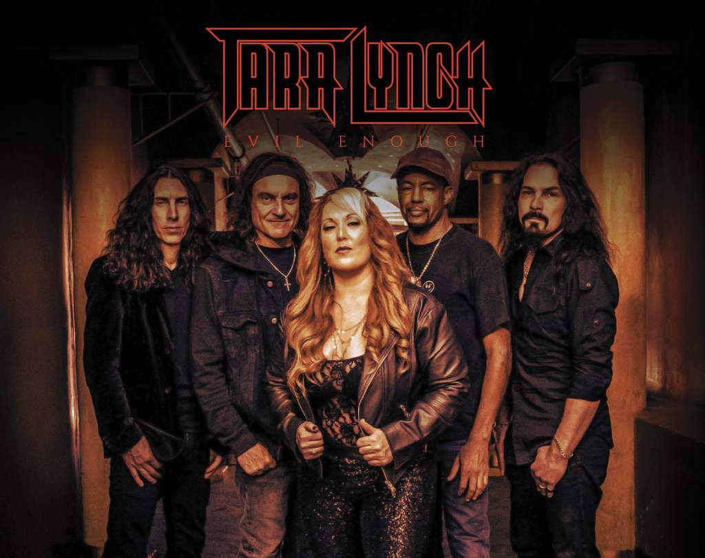 TARA LYNCH - Live Interview on the Dianna Bellerose Show on Friday, April 6th at 12:25pm PST...Tara Lynch, Vinny Appice, Tony MacAlpine, Bjorn Englen, Brent Woods, Phil Soussan, Glen Sobel, Mark Boals, EVIL ENOUGH drops Friday the 13th of April!