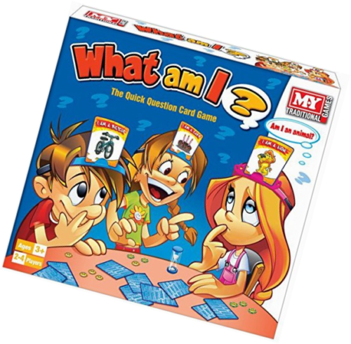 what am i card game guessing board game family fun party toy