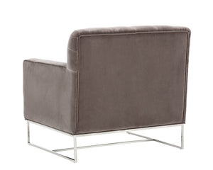 Alexandria Armchair - Giotta Grey Fabric