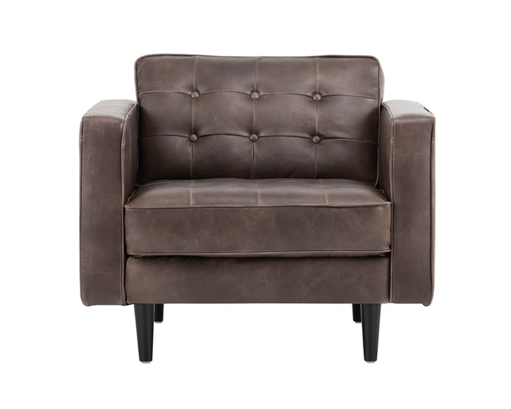 Donnie Armchair - Havana Dark Brown