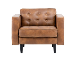 Donnie Armchair - Tobacco Tan