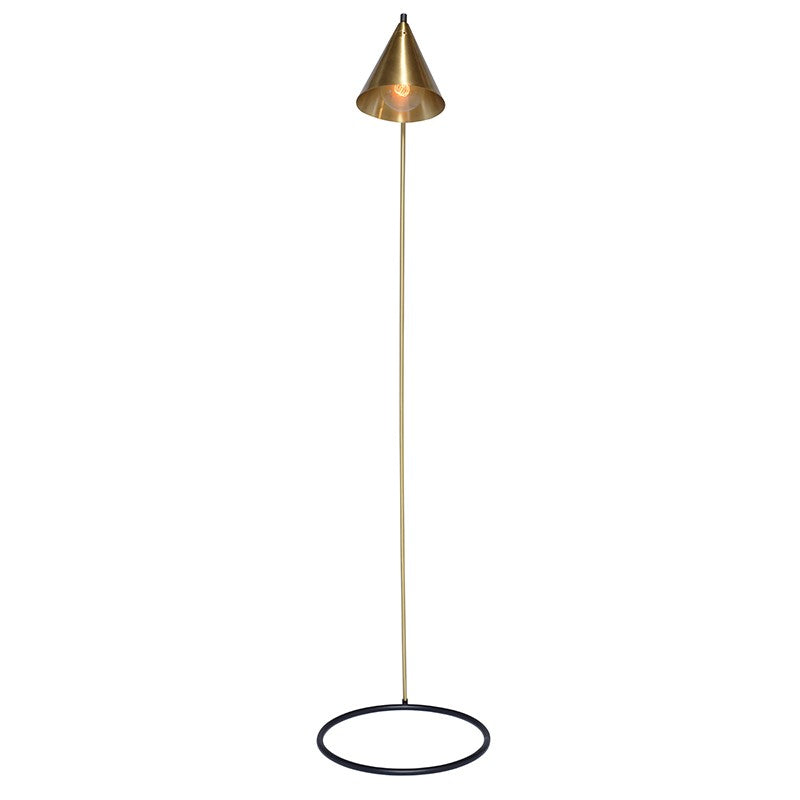 Killian Floor Light - Brass