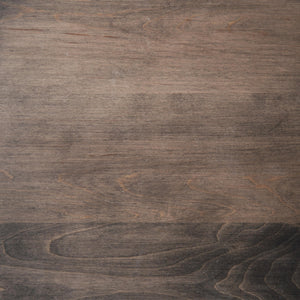 Swatch of Maple wood with a Silver stain for table tops. Top view.