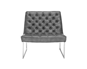 Toro Chair - Grey Leather