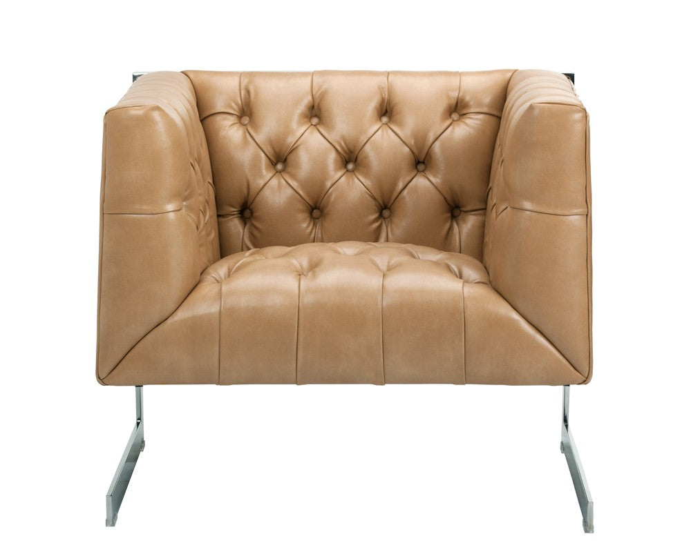 Viper Armchair - Peanut Leather