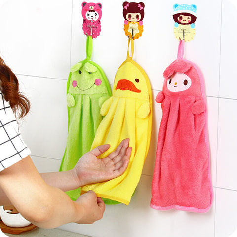 Cute Cartoon Cotton Towel