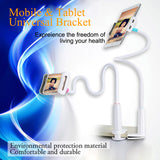 GUSGU Flexible Universal Phone and Tablet Stand With Clip Bracket