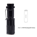 3800 Lumen Led Torch CREE XM-L2 Flashlight
