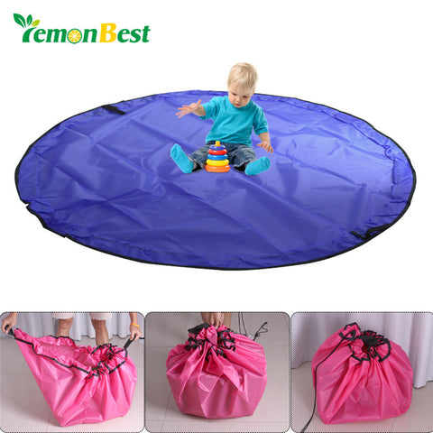 LemonBest 150cm Portable Kids Play Mat And Storage Bag