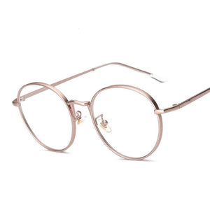 Rose Oval Glasses