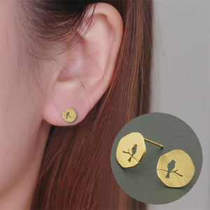 Bird Cut Out Studs