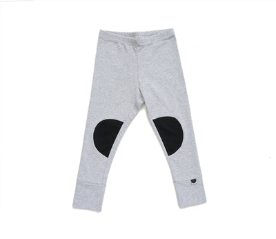 Papu Patch Leggings Melange Grey, Black