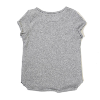 Beau Hudson Raw Edge Grey Marle Tall Tee T-Shirt Beau Hudson
