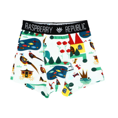Raspberry Republic Royal Ribit Briefs and Boxers Underwear Raspberry Republic 92/98 Boxers