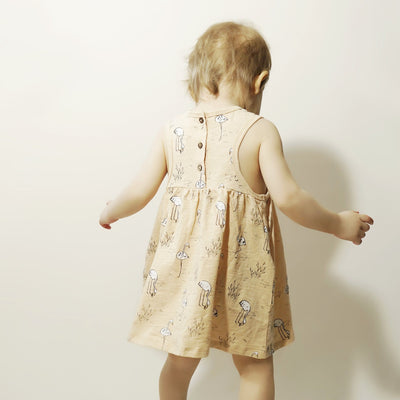 Rylee & Cru Flamingos Layla Mini Dress