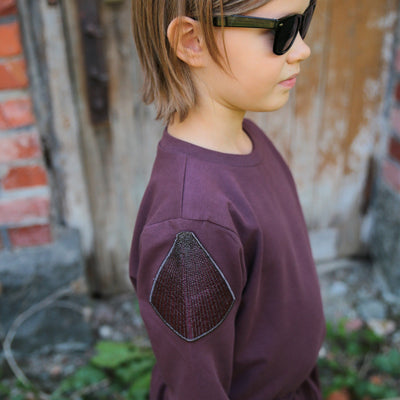 GRO Aubergine Sweat