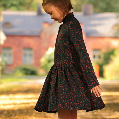 GRO Berry Print Cecilie Dress