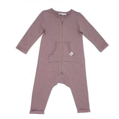 By Heritage Otto Playsuit Playsuit By.Heritage 56 Dark Old Pink