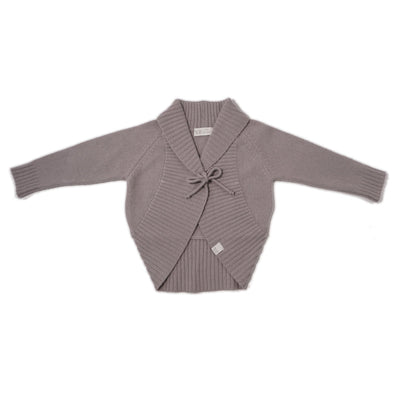 By Heritage Polly Knitted Cardigan Cardigan By.Heritage 86/92 grey melange