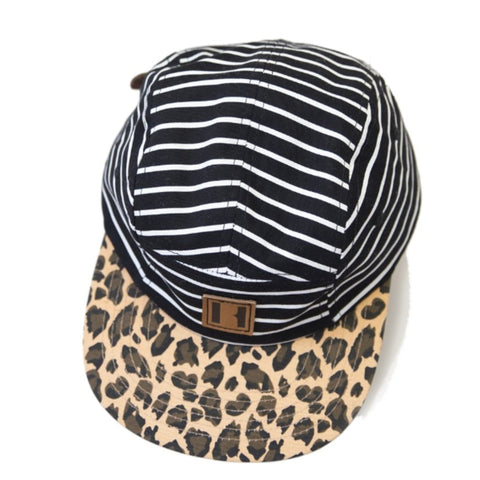 Beau Hudson Stripes on Leopard Cap