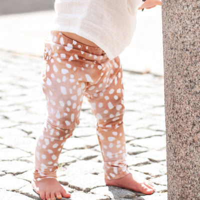 Kaiko Leggings, Brown Bambi