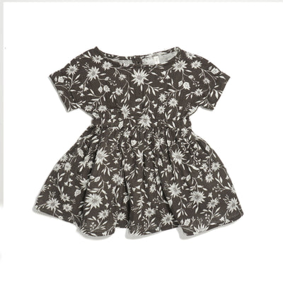 Rylee + Cru Midnight Floral Kat t-Shirt Dress Dress Rylee + Cru 6-12m