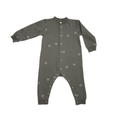 Rylee + Cru Star Embroidered Long John Midnight