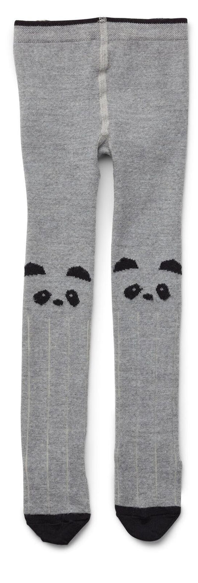 Liewood Silje Cotton Stockings Stockings Liewood 62/68 Panda Grey Melange