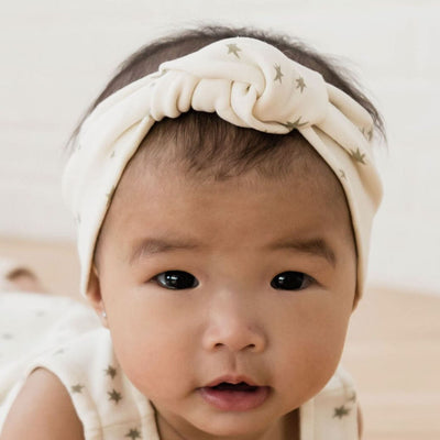 Quincy Mae Baby Turban, Sage, Ash, Rose, Ivory + Sea Headwear Quincy Mae