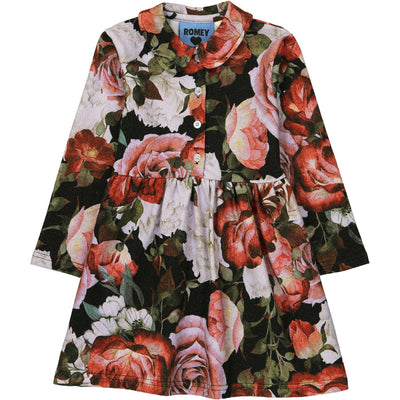 Romey Loves Lulu Peter Pan Collared Dress Floral
