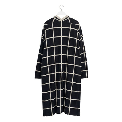 Papu Women's Knit Long Cardigan Giant Grid Knit Women Papu