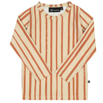 Kaiko Boho Stripe T-Shirt, LS Long Sleeved Shirts Kaiko 86/92
