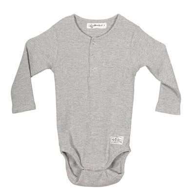 I Dig Denim Ly Body LS, Black + Grey Melange Body I dig denim 56 grey melange