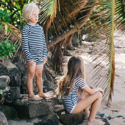 Beach & Bandits Stripe Tee Long Sleeve Swimware Beach & Bandits