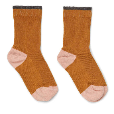 Liewood Valentine Socks 2-pack Socks Liewood 17/18 Mustard yellow