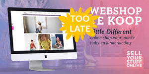 TOO LATE: Little Different - online shop voor unieke baby en kinderkleding