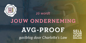 Gastblog Charlotte's Law: Zó wordt jouw onderneming AVG-proof