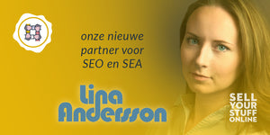 Lina Andersson voor SEO en SEA marketing