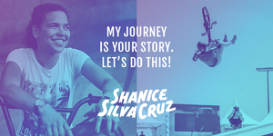 Failure is NOT een option. Ontmoet bikkel Shanice Silva Cruz!