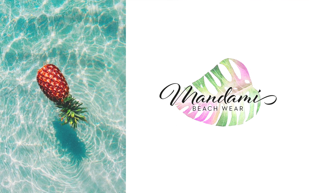 Mandami beach wear branding