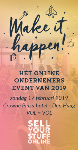 Make it happen webshop en ondernemers event 2019