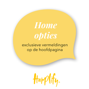 Happlify - Home opties